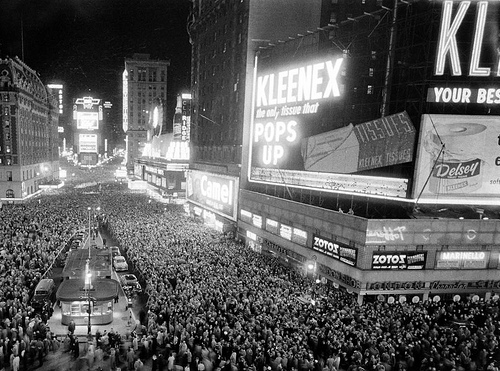 New Year 1950s
